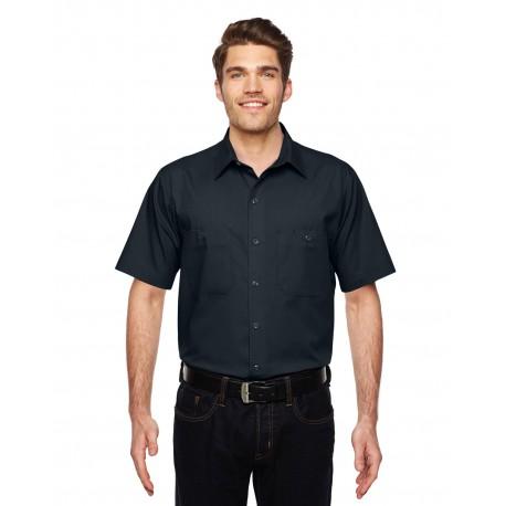 LS516 Dickies LS516 Men's 4.25 oz. MaxCool Premium Performance Work Shirt DARK NAVY