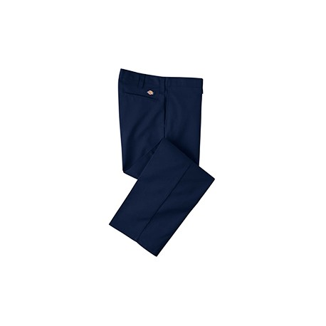 LP812 Dickies LP812 Men's 7.75 oz. Industrial Flat Front Pant DARK NAVY 36