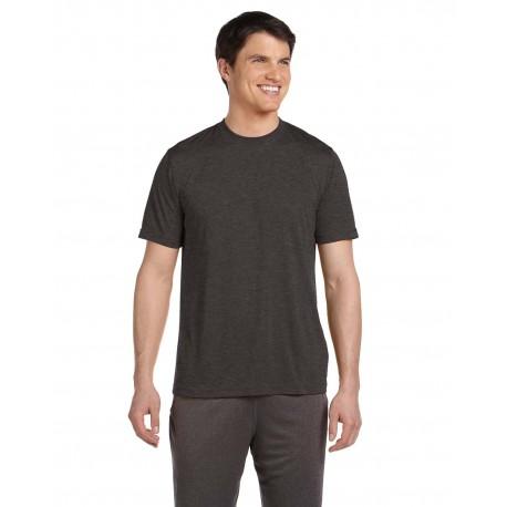 M1009 All Sport M1009 Unisex Performance Short-Sleeve T-Shirt DK GREY HEATHER