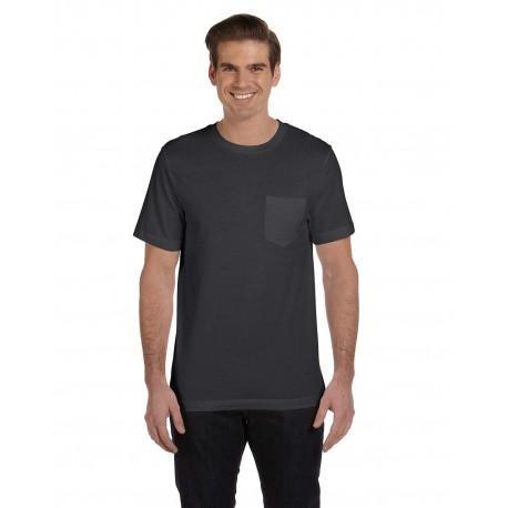 3021 Bella + Canvas 3021 Men's Jersey Short-Sleeve Pocket T-Shirt DK GREY HTHR