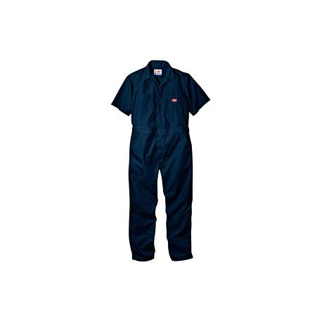 33999 Dickies 33999 Men's 5 oz. Short-Sleeve Coverall DK NAVY M