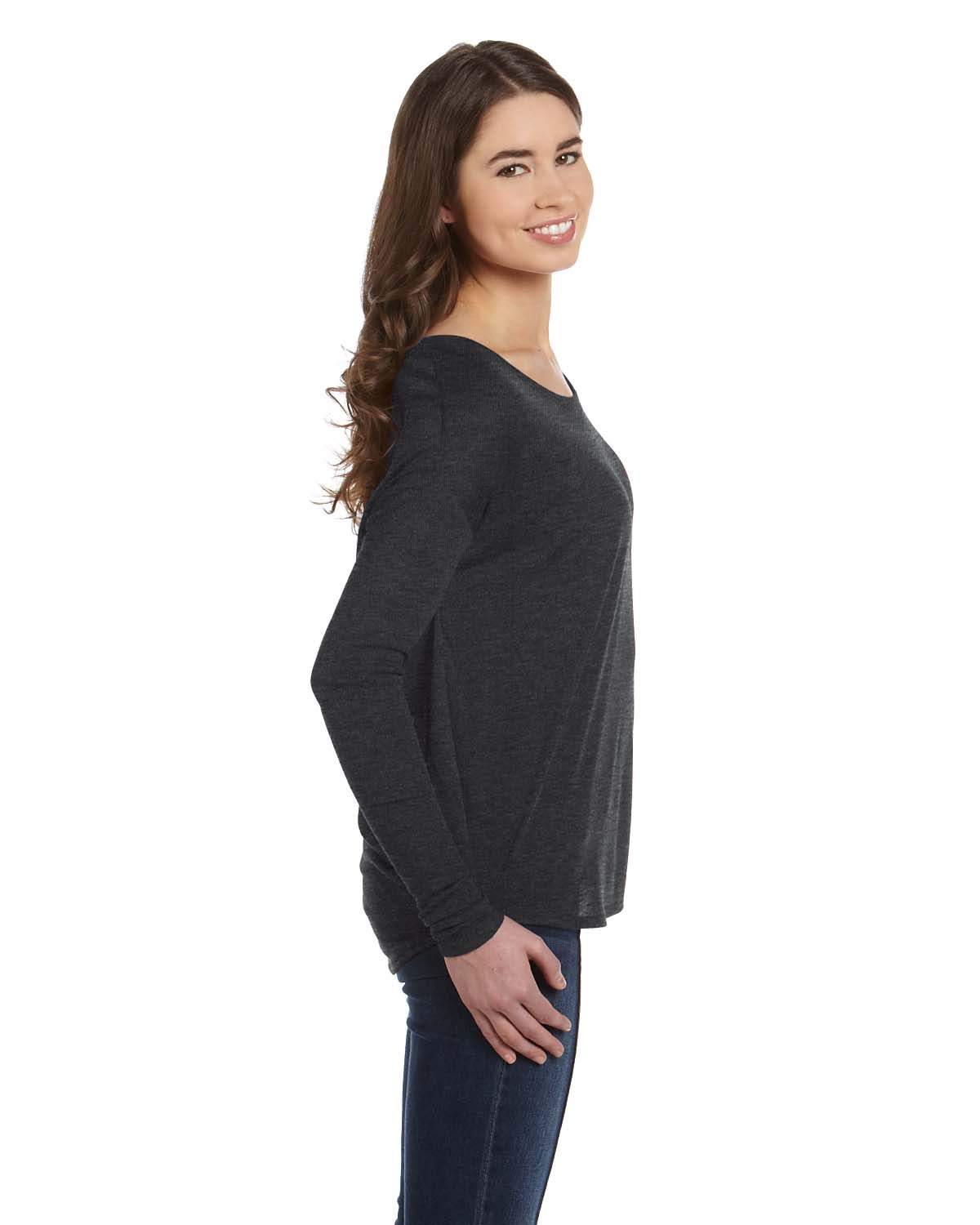 8852 Bella + Canvas DRK GREY HEATHER