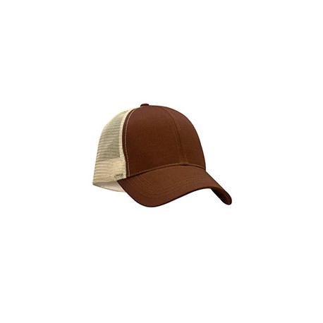 EC7070 Econscious EC7070 Eco Trucker Organic/Recycled Hat EARTH/OYSTER