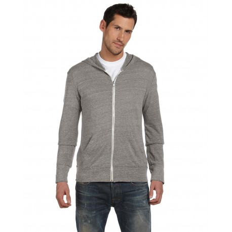 AA1970 Alternative AA1970 Unisex Eco-Jersey Zip Hoodie ECO GREY