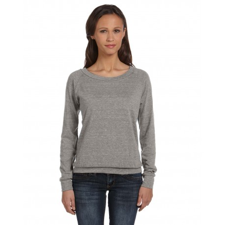 AA1990 Alternative AA1990 Ladies' Slouchy Eco-Jersey Pullover ECO GREY