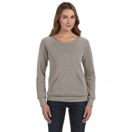 AA9582 Alternative AA9582 Ladies' Maniac Eco-Fleece Sweatshirt ECO GREY