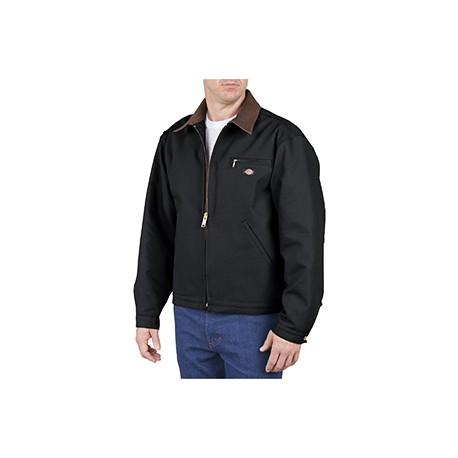 758 Dickies 758 Unisex Duck Blanket Lined Jacket BLACK