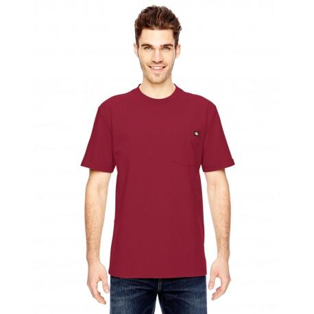 WS450 Dickies WS450 Unisex Short-Sleeve Heavyweight T-Shirt ENGLISH RED