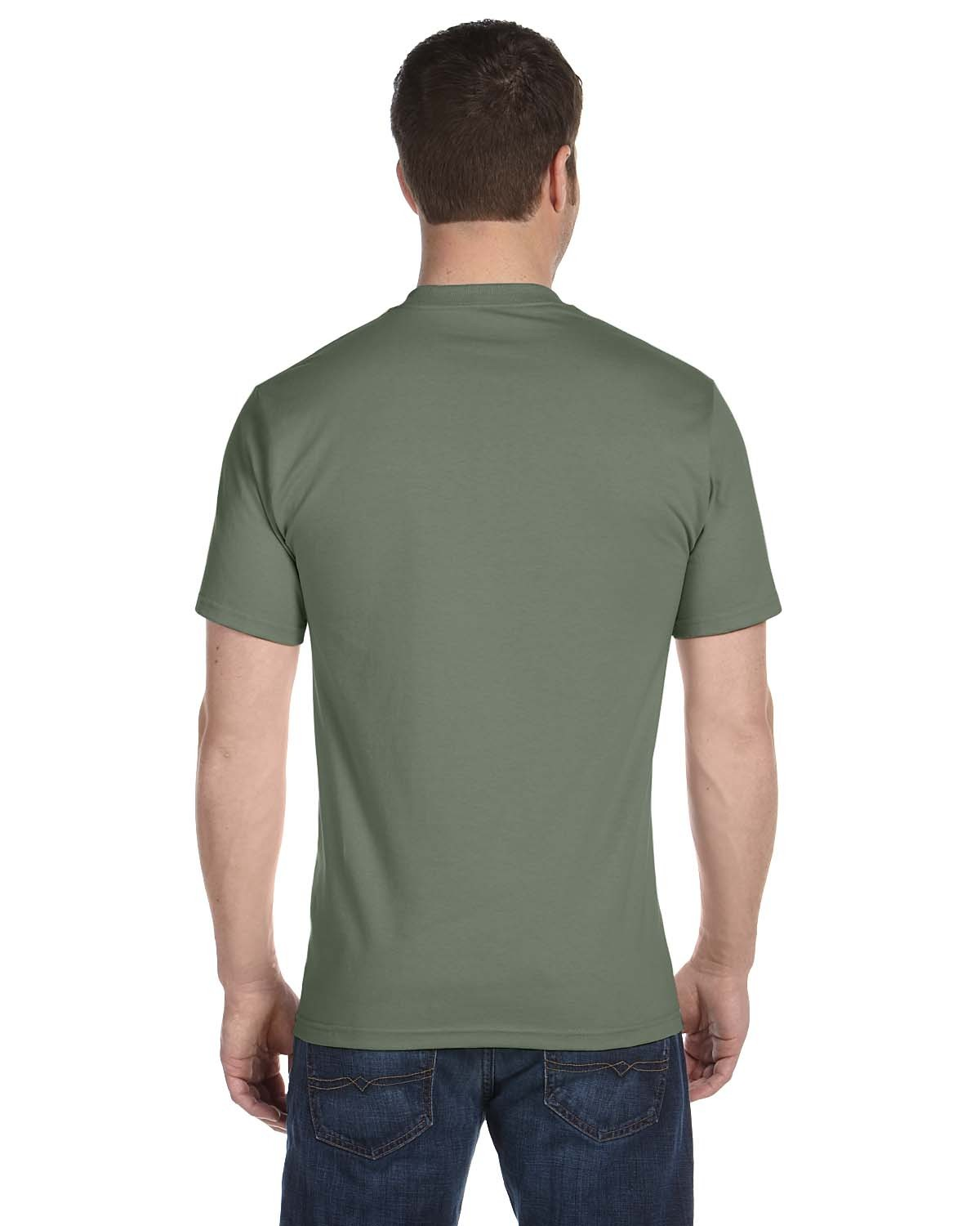 5180 Hanes FATIGUE GREEN