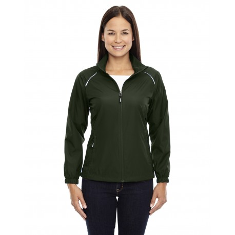 78183 Core 365 78183 Ladies' Motivate Unlined Lightweight Jacket FOREST 630