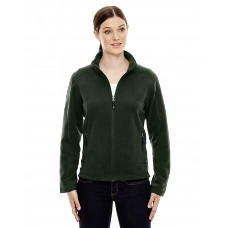 78172 North End 78172 Ladies' Voyage Fleece Jacket FOREST 630