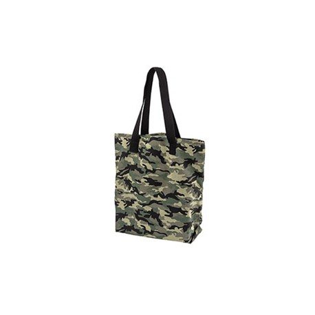 BE066 BAGedge BE066 12 oz. Canvas Print Tote FOREST CAMO