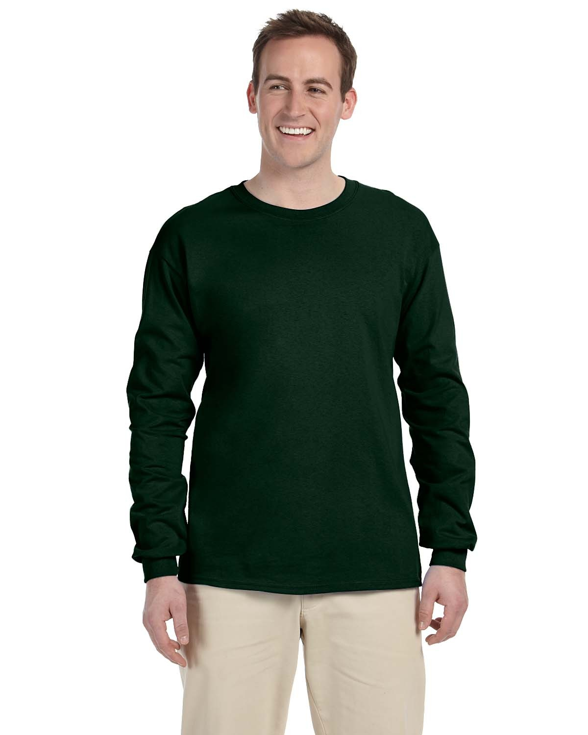 4930 Fruit of the Loom FOREST GREEN