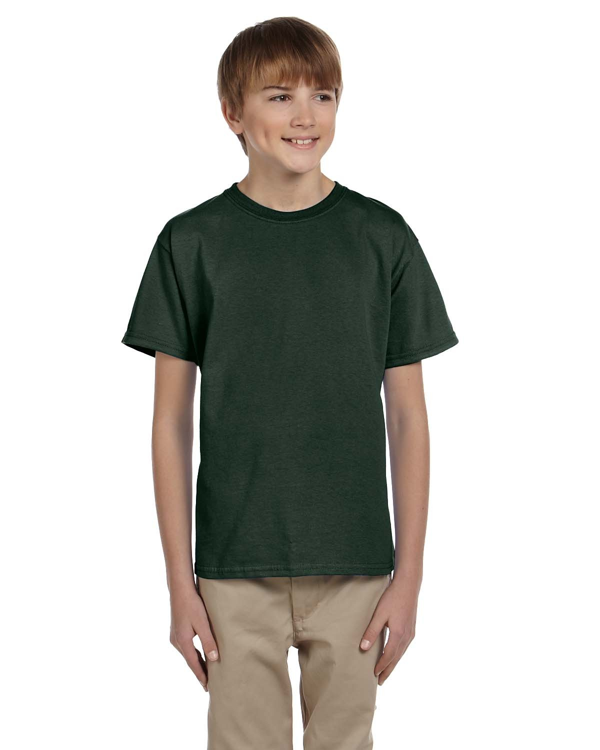3931B Fruit of the Loom FOREST GREEN