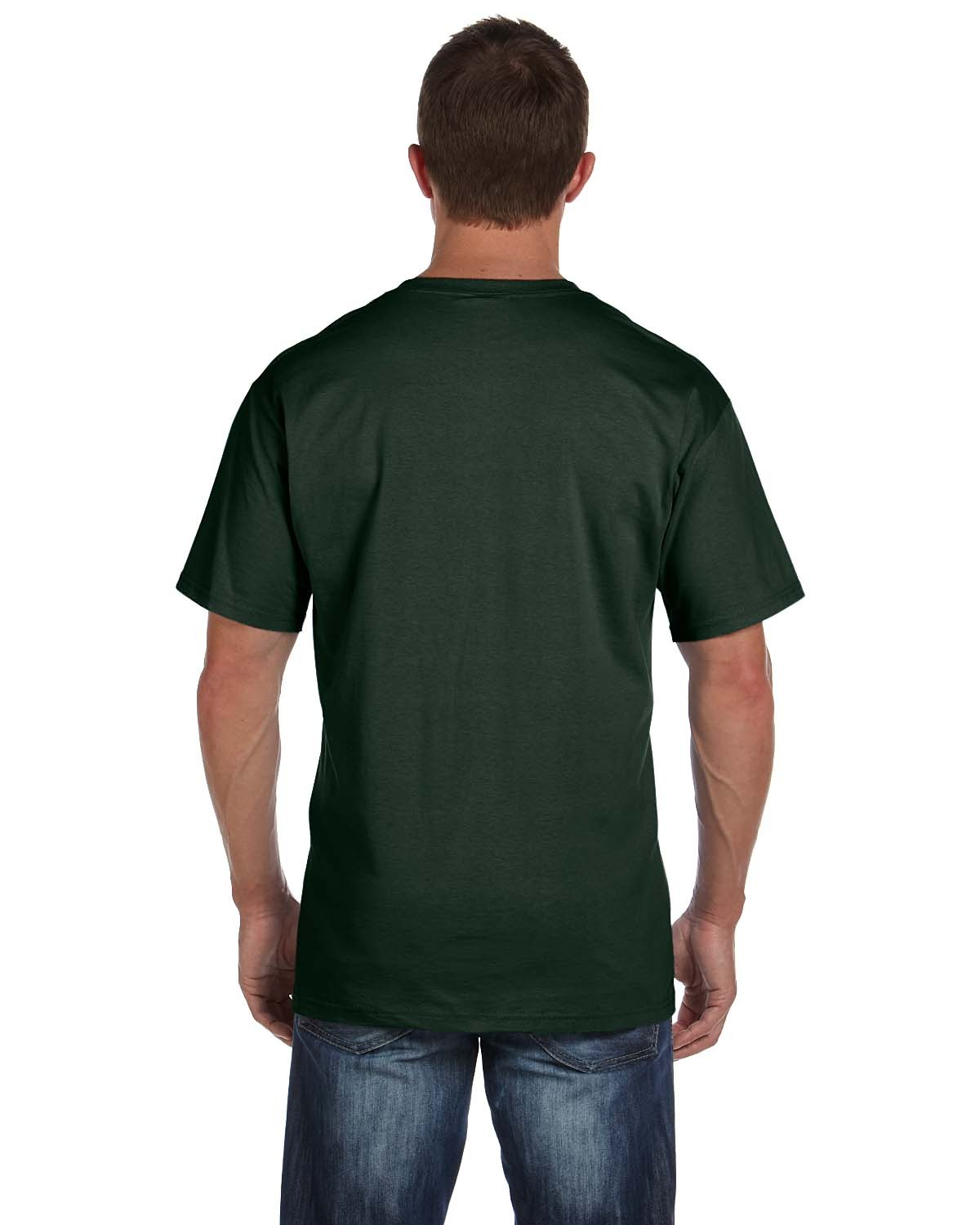 3931P Fruit of the Loom FOREST GREEN