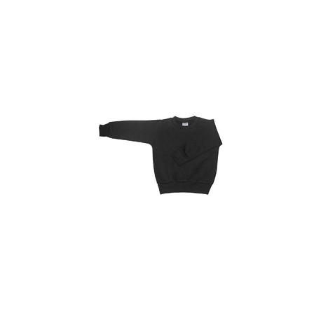 3317 Rabbit Skins 3317 Toddler Fleece Sweatshirt BLACK
