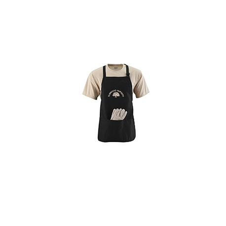 4250 Augusta Sportswear 4250 Medium Length Apron BLACK