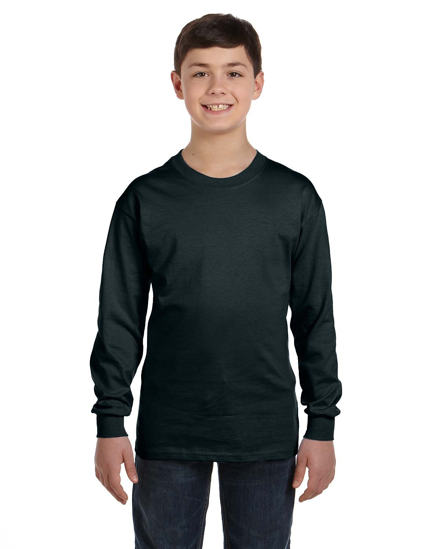 5546 Hanes BLACK