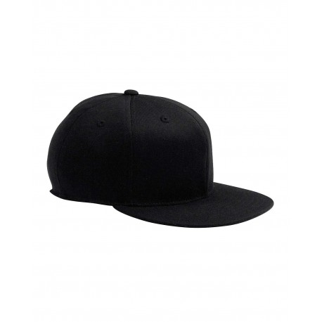 6210 Flexfit 6210 Adult Premium 210 Fitted Cap BLACK