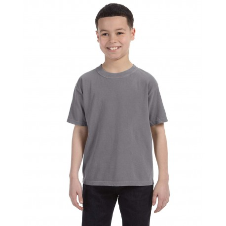 C9018 Comfort Colors C9018 Youth Midweight RS T-Shirt GRAPHITE