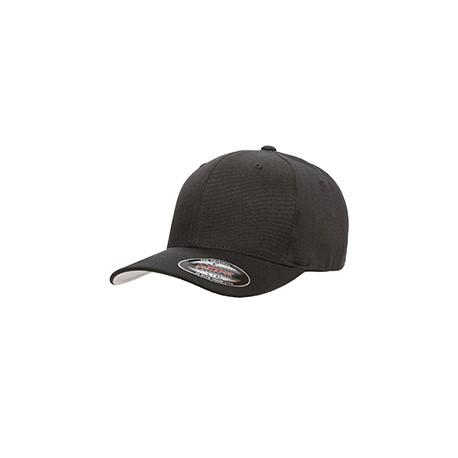 6477 Flexfit 6477 Adult Wool Blend Cap BLACK