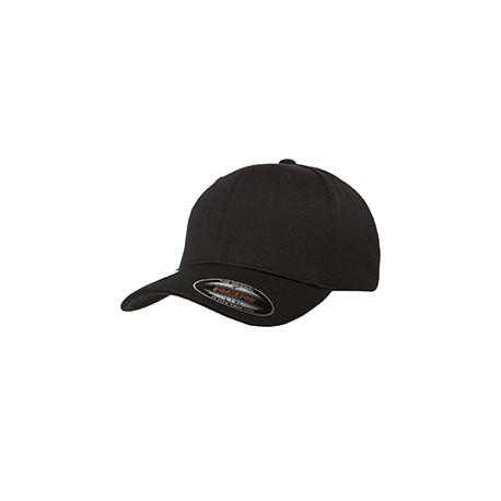6597 Flexfit 6597 Adult Cool & Dry Sport Cap BLACK