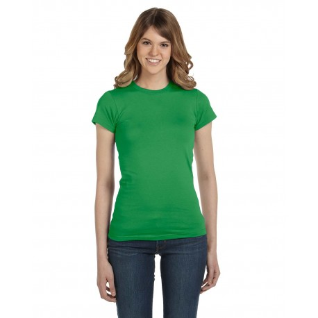 379 Anvil 379 Ladies' Lightweight Fitted T-Shirt GREEN APPLE