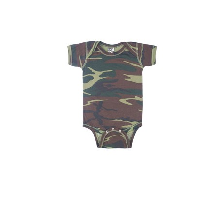 4403 Code Five 4403 Infant Camouflage Bodysuit GREEN WOODLAND