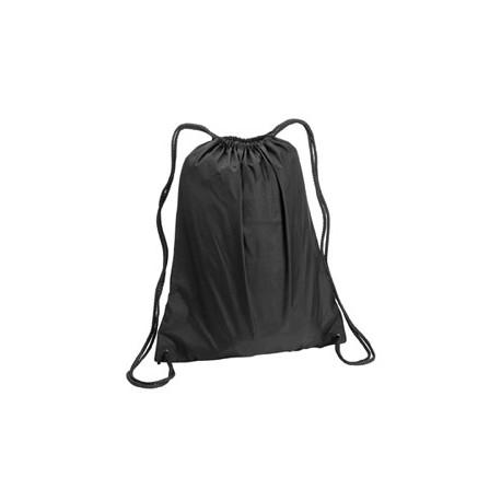 8882 Liberty Bags 8882 Large Drawstring Backpack BLACK