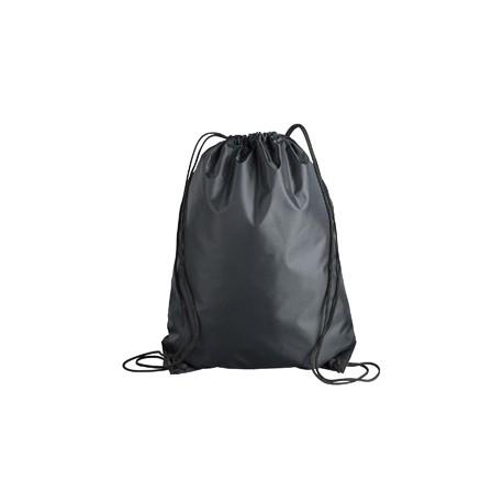 8886 Liberty Bags 8886 Value Drawstring Backpack BLACK