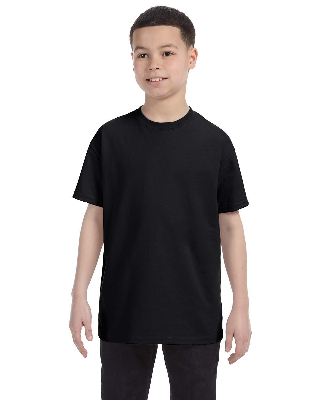 54500 Hanes BLACK