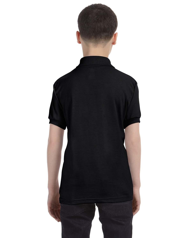 054Y Hanes BLACK