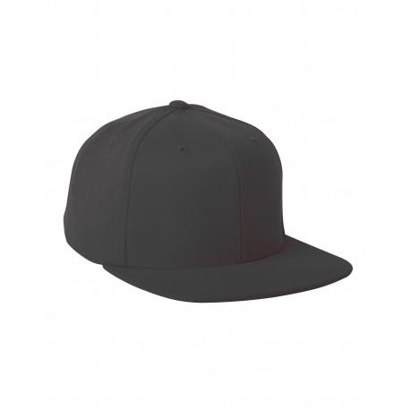 110F Flexfit 110F Adult Wool Blend Snapback Cap BLACK