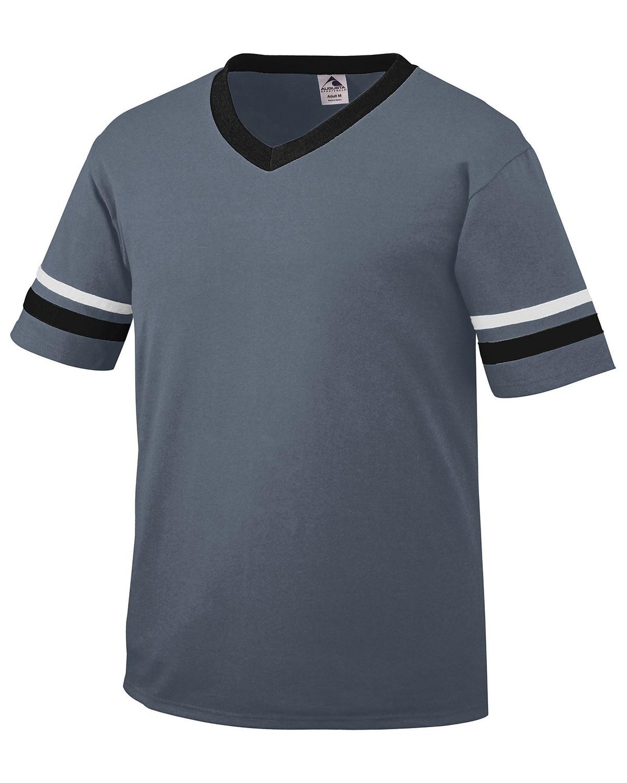 360 Augusta Sportswear GRPHITE/BLK/WH