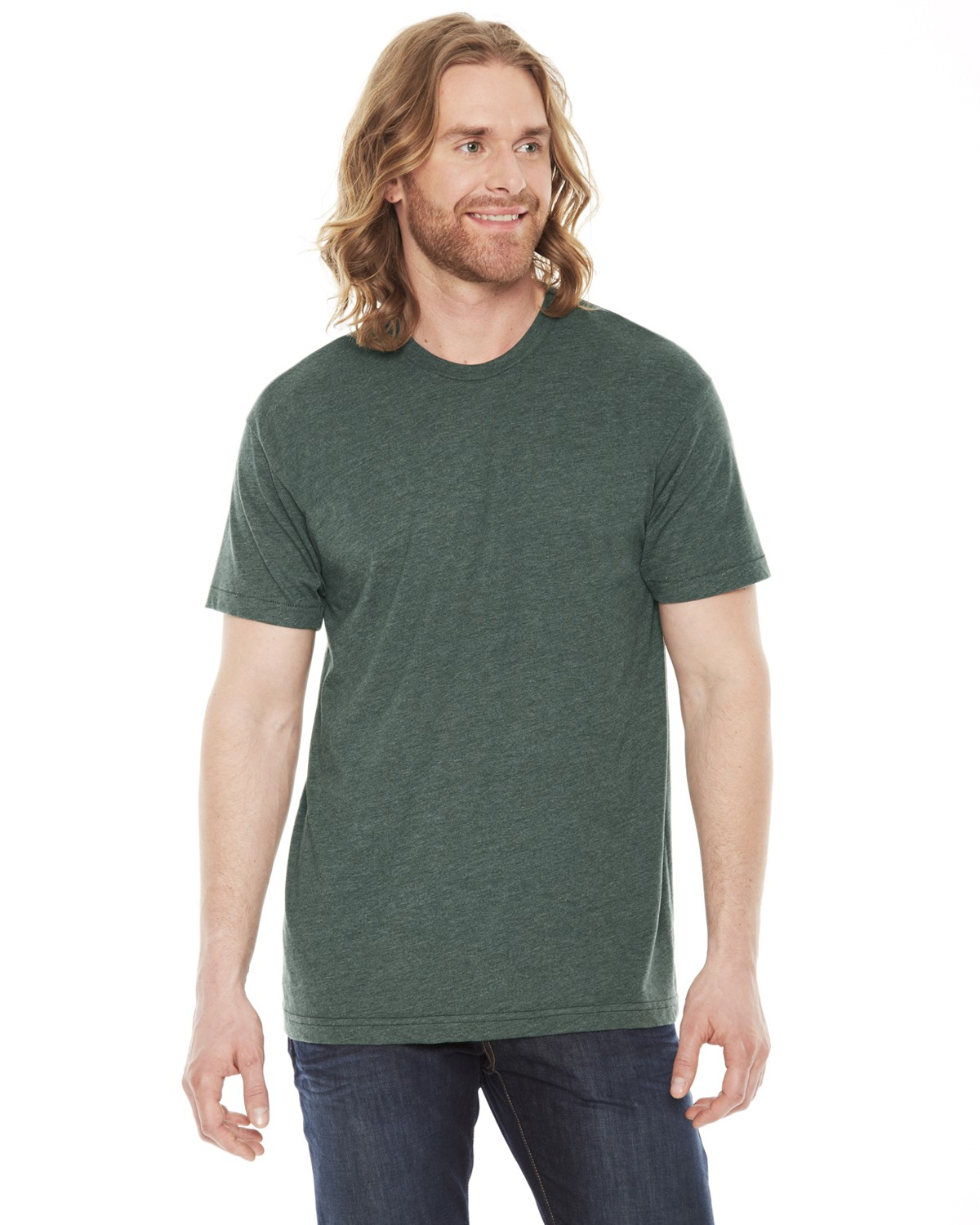 BB401 American Apparel HEATHER FOREST