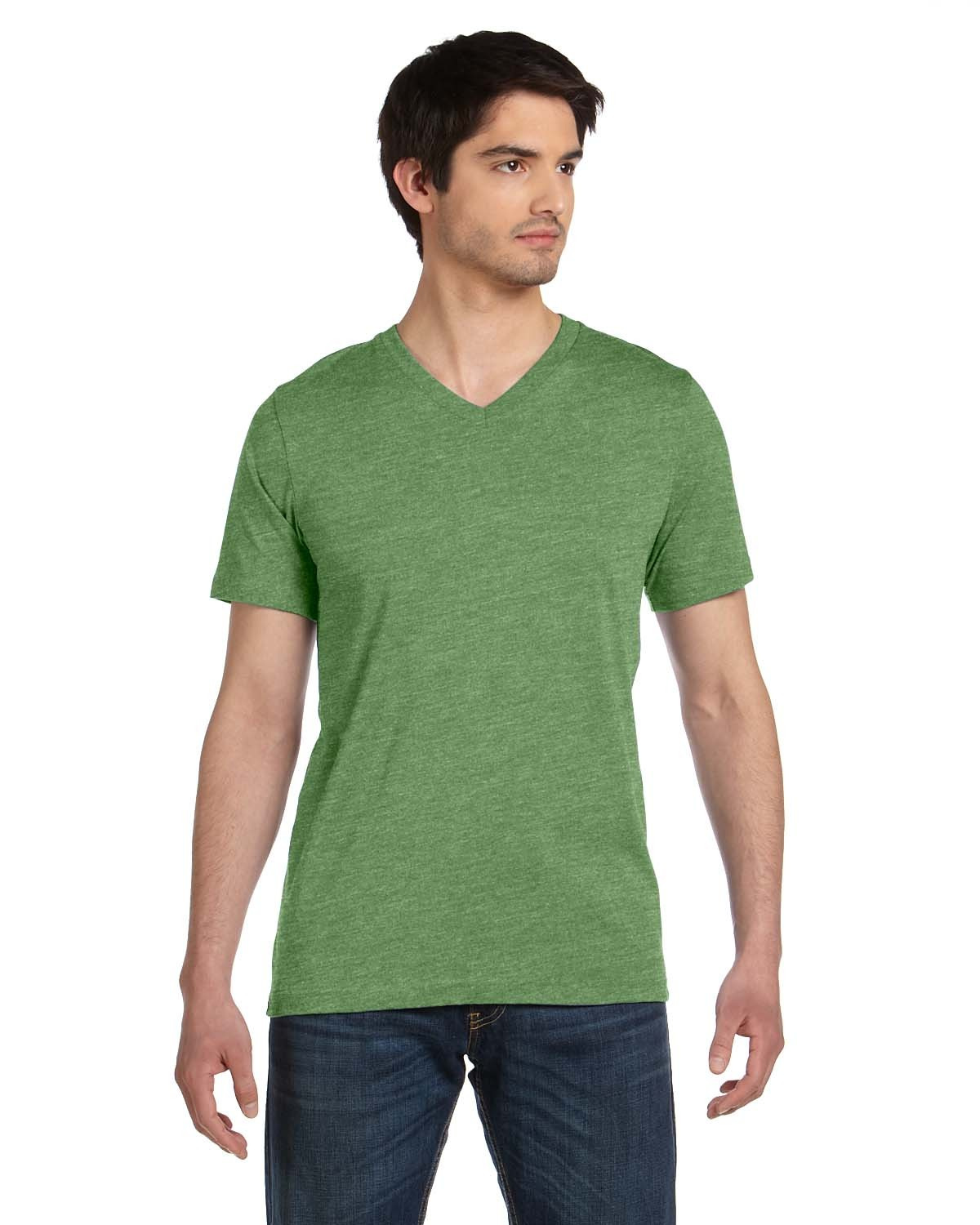3005 Bella + Canvas HEATHER GREEN