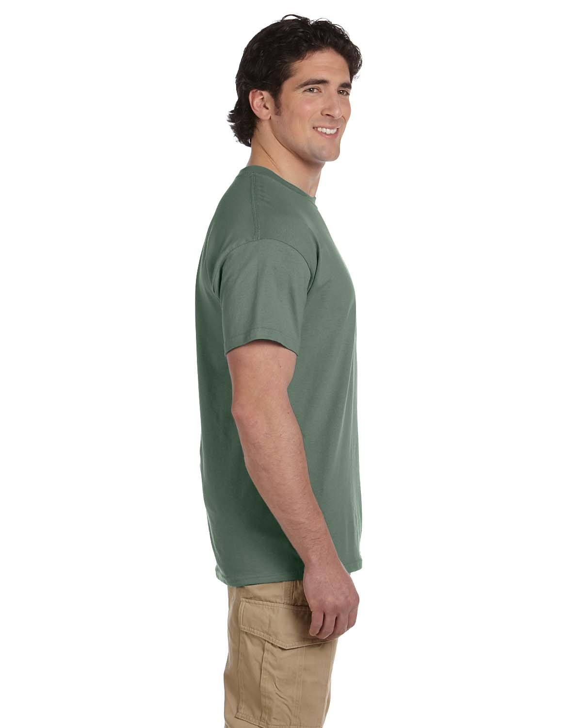 5170 Hanes HEATHER GREEN