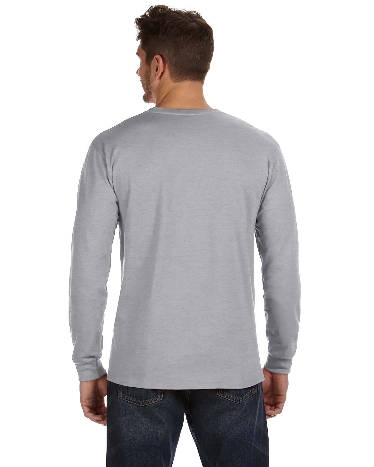 784AN Anvil HEATHER GREY