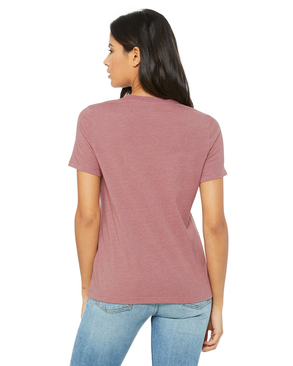 B6400 Bella + Canvas HEATHER MAUVE
