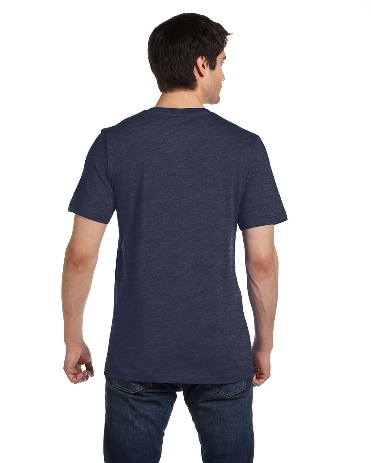 3005 Bella + Canvas HEATHER NAVY