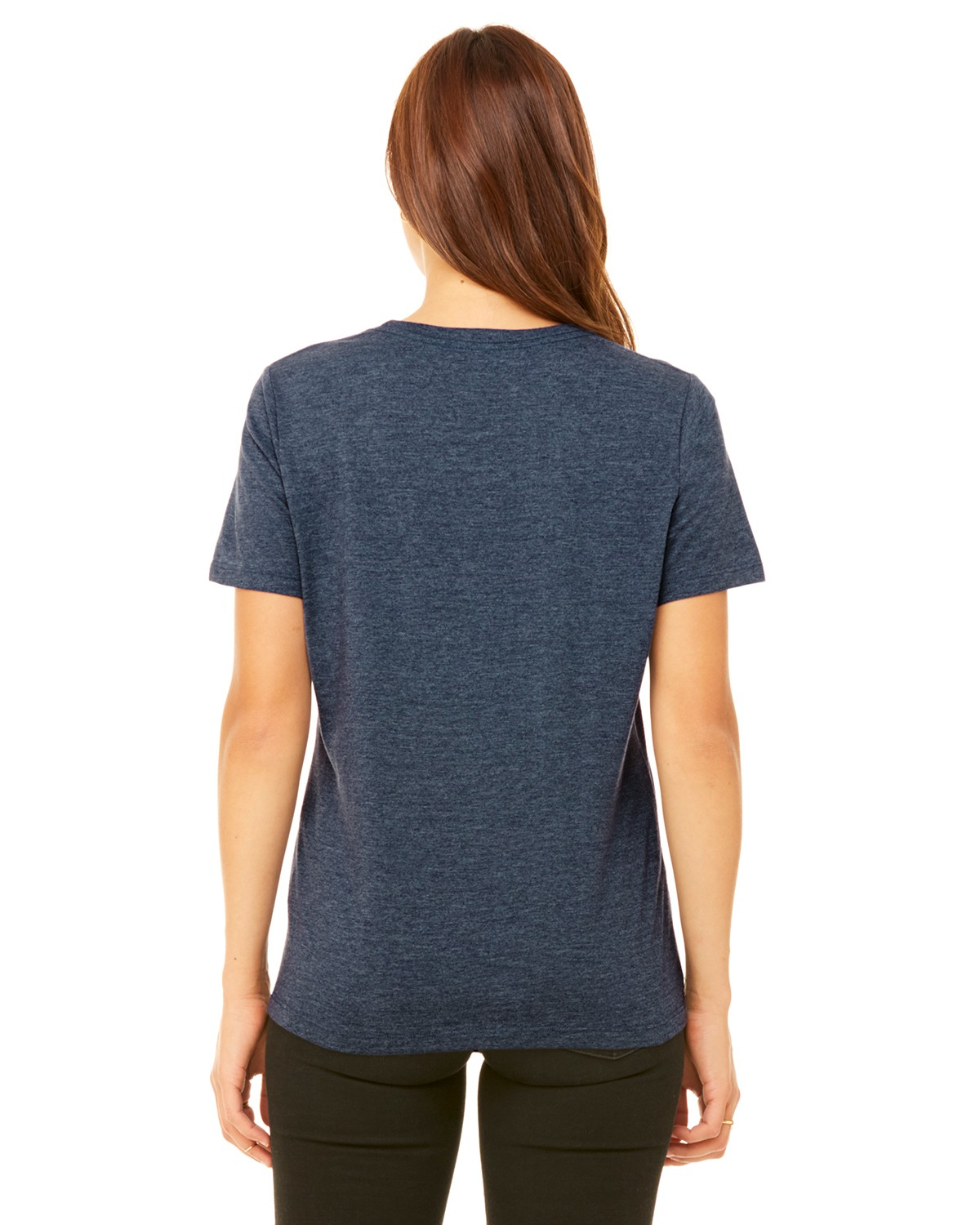 B6400 Bella + Canvas HEATHER NAVY