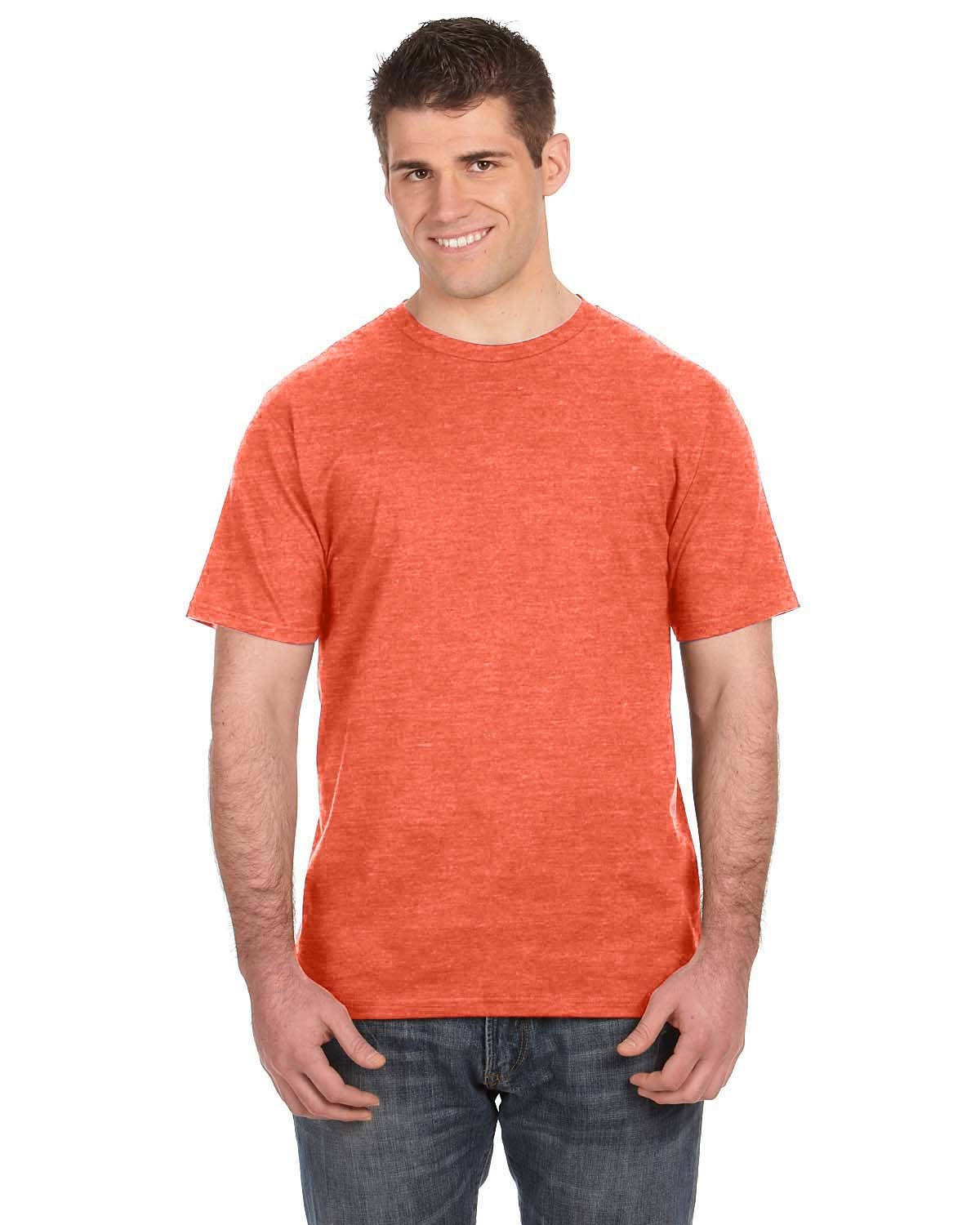 980 Anvil HEATHER ORANGE