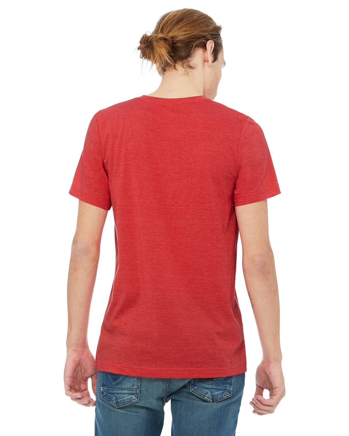 3005 Bella + Canvas HEATHER RED