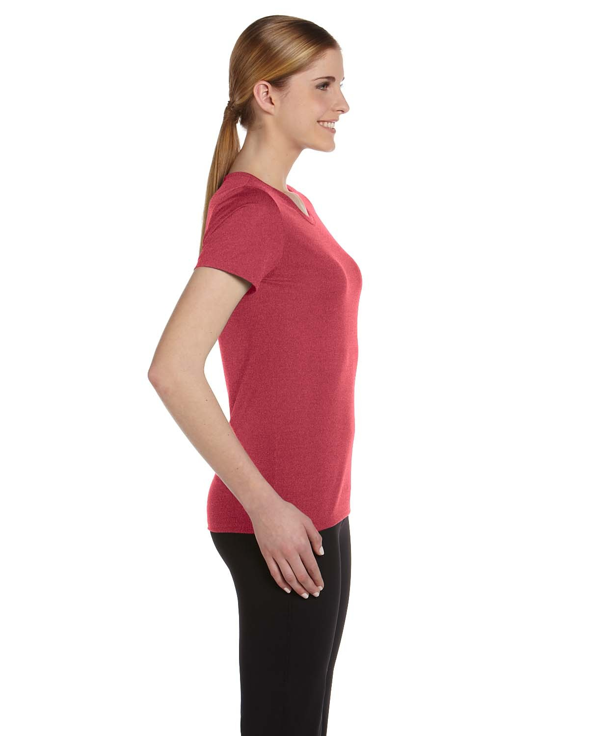 W1009 All Sport HEATHER RED