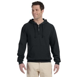 Jerzees 994MR Adult 8 oz. NuBlend Fleece Quarter-Zip Pullover Hood