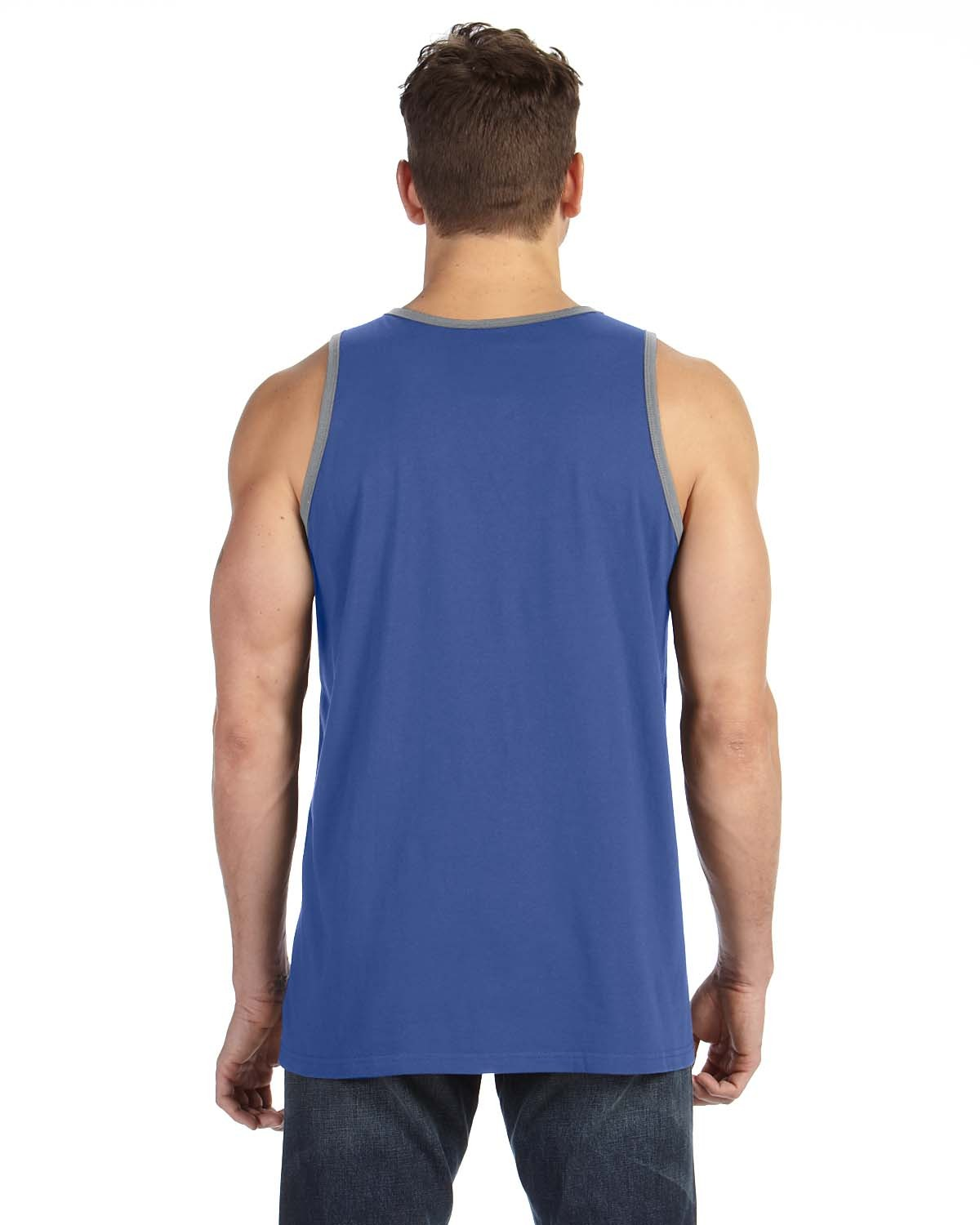986 Anvil HTH BLUE/HT GRY