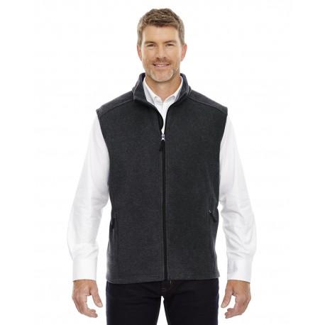 88191T Core 365 88191T Men's Tall Journey Fleece Vest HTHR CHRCL 745