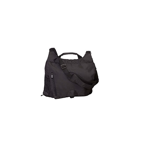 BE045 BAGedge BE045 Unisex Messenger Tech Bag BLACK