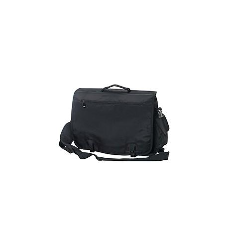 BE048 BAGedge BE048 Modern Tech Briefcase BLACK