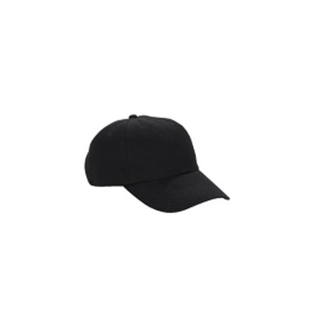 BX005 Big Accessories BX005 6-Panel Washed Twill Low-Profile Cap BLACK